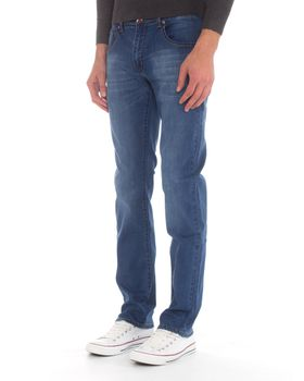 Top Warrior Men's T'46 Straight-Leg Jeans - Blue