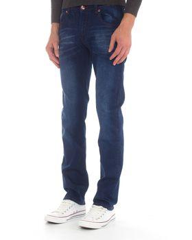 Top Warrior Men's T'90 Straight-Leg Jeans - Blue