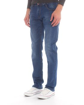 Top Warrior Men's T'00 Straight-Leg Jeans - Blue