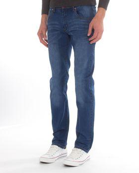 Top Warrior Men's T'03 Straight-Leg Jeans - Blue