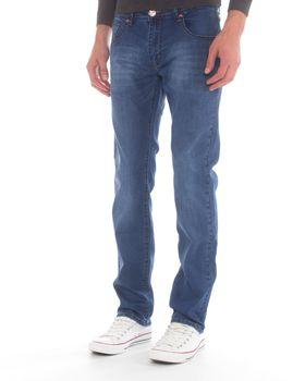 Top Warrior Men's T'04 Straight-Leg Jeans - Blue