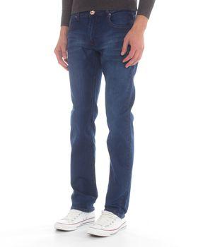Top Warrior Men's T'05 Straight-Leg Jeans - Blue