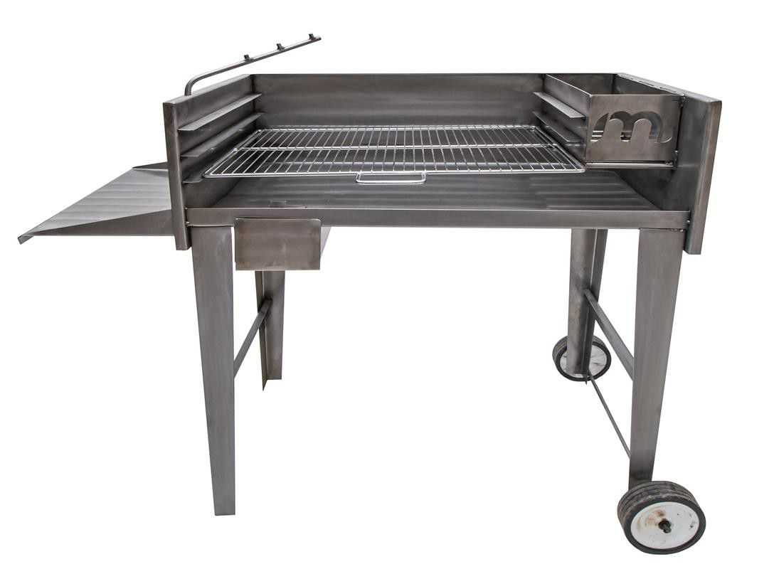 Portable Braai Stand Designs : Megamaster fsbs  del s steel patio braai buy