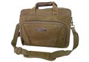 Tosca 15 inch Canvas Laptop Briefcase - Khaki
