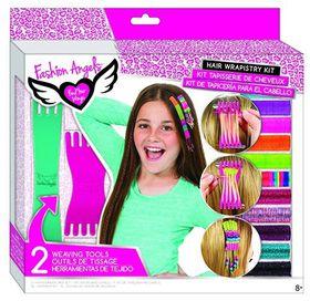 Fashion Angels Cosmetics & Hair Weaving Kit
