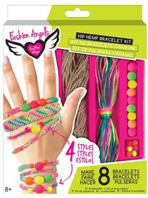 Fashion Angels Trendcessories-Bracelets Hip Hemp Kit - Exp2