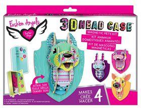 Fashion Angels Head Case Mini Locker/Wall Pets
