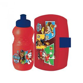 Paw Patrol Junior Bottle & Luncbox Set Shrinkwrap