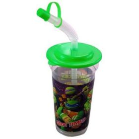 Tmnt Fighters Flexible Straw Tumbler With Lid