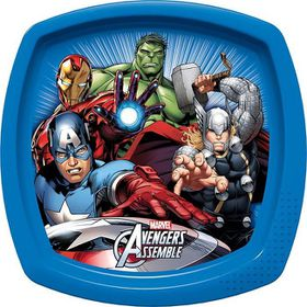 Avengers Mighty Square Shaped Plate