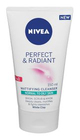 NIVEA Perfect and Radiant 3 In 1 Cleanser - 150ml
