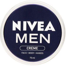 Nivea Men Face Cream Tin - 75ml