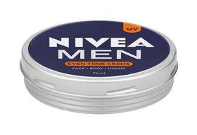 Nivea Men Even Tone Face Cream Tin - 75ml