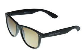 "Lentes & Marcos ""Hortaleza"" Polarised Black Wayfarer Sunglasses"
