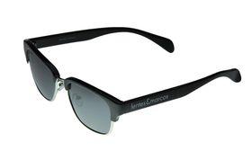 "Lentes & Marcos ""La Elipa"" Polarised Black Clubmaster Sunglasses"