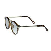 "Lentes & Marcos ""Cruce de Villaverde"" UV400 Tortoise-Shell Round Sunglasses"