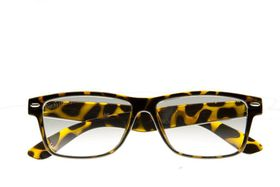 "Lentes & Marcos ""Goya"" UV400 Tortoise-Shell Oversized Sunglasses"