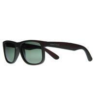 "Lentes & Marcos ""Diego de Leon"" Polarised Amber Wayfarer Sunglasses"