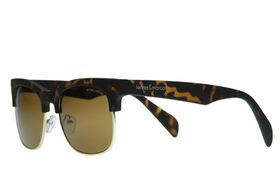 "Lentes & Marcos ""Sevilla"" UV400 Tortoise-Shell Clubmaster Sunglasses"