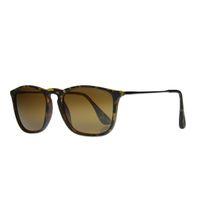 """Lentes & Marcos """"Carpetana"""" UV400 Black & Silver Wayfarer Sunglasses"""