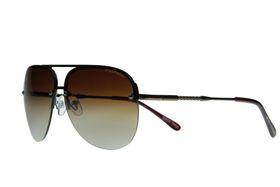 """Lentes & Marcos """"Metropolitano"""" UV400 Bronze Aviator Sunglasses"""