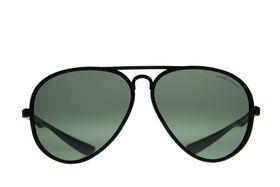 "Lentes & Marcos ""Lucero"" Polarised Black Aviator Sunglasses"