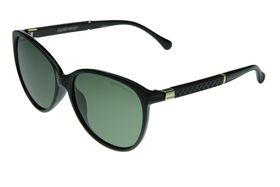"Lentes & Marcos ""Bilbao"" Polarised Olve & Tortoise-Shell Oversized Sunglasses"