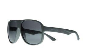 """Lentes & Marcos """"Empalme"""" UV400 Grey Aviator Sunglasses"""