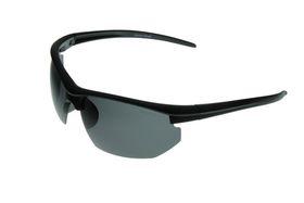 "Lentes & Marcos ""Gran Via"" Polarised Black Sports Sunglasses"