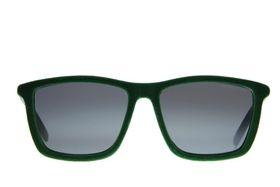 """Lentes & Marcos """"Embajadores"""" UV400 Black & Navy Flat-Top Sunglasses"""