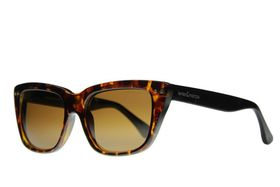 "Lentes & Marcos ""O'Donnell"" Polarised Tortoise-Shell Cat-Eye Sunglasses"