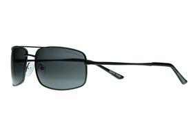 "Lentes & Marcos ""Castilla"" Polarised Black Rectangle Sunglasses"