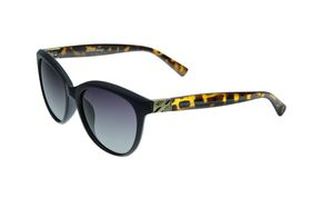 "Lentes & Marcos ""Piramides"" Polarised Navy & Tortoise-Shell Cat-Eye Sunglasses"