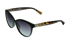 "Lentes & Marcos ""Piramides"" Polarised Black & Tortoise-Shell Cat-Eye Sunglasses"