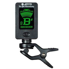 JOYO Guitar Tuner Mini Digital LCD Clip-on Tuner for Guitar Bass Violin Ukulele Musical Instrument