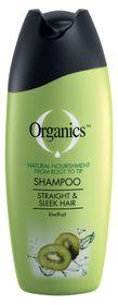 Organics Straight & Sleek Shampoo - 200ml
