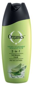 Organics Normal 2-In-1 Shampoo - 200ml