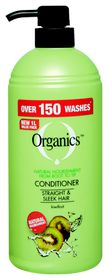 Organics Straight & Sleek Conditioner 1L