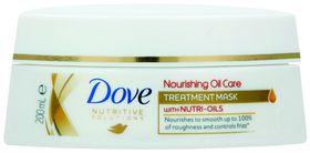 Dove Nutritive Solutions Nourishing Oil Care Dry Hair Treatment Mask - 200ml