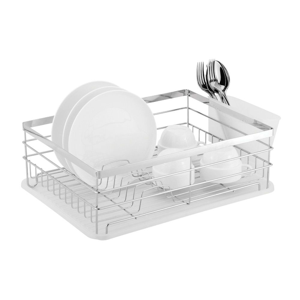 casa - catania stainless steel dish drainer - ddcat110sscwh | buy