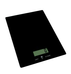 Pure Pleasure - Glass Kitchen Scale - Black