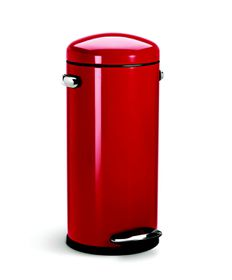 SimpleHuman - 30 Litre Retro - Red
