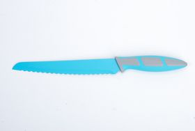 Kitchen Dao - RV2232 8 Inch Non-Stick Bread Knife - Blue