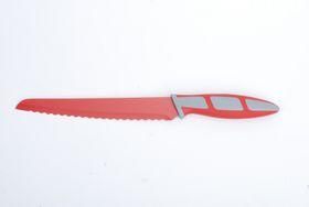 Kitchen Dao - RV2235 8 Inch Non-Stick Bread Knife - Red