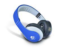 Idance Dark Blue and Grey Over Ear Headphone