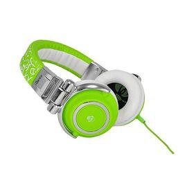 Idance Green and White Headphone