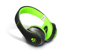 Idance Black and Green Over Ear Headphone