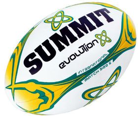 Summit Evolution Rugby Ball (Size:5)