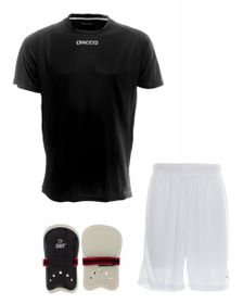 Men's Dacco Soccer Shirt, Shorts and SNT Senior Shinguard