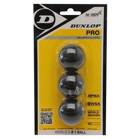 Dunlop Pro Ball Blister - 3 Pack